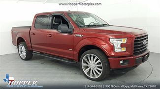 2015 Ford F-150 XLT Sport Leather Lifted Custom wheels in McKinney Texas, 75070