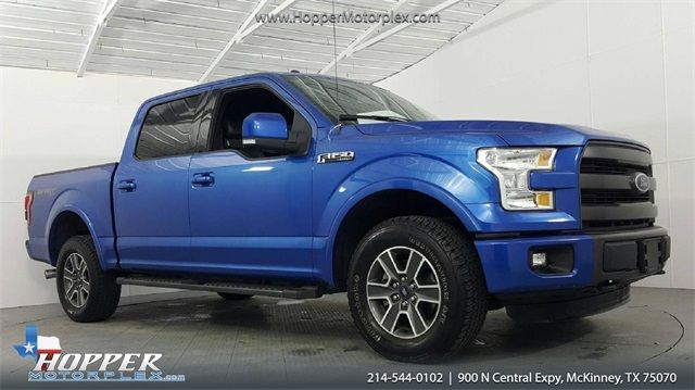 2015 Ford F-150 Lariat in McKinney, Texas 75070