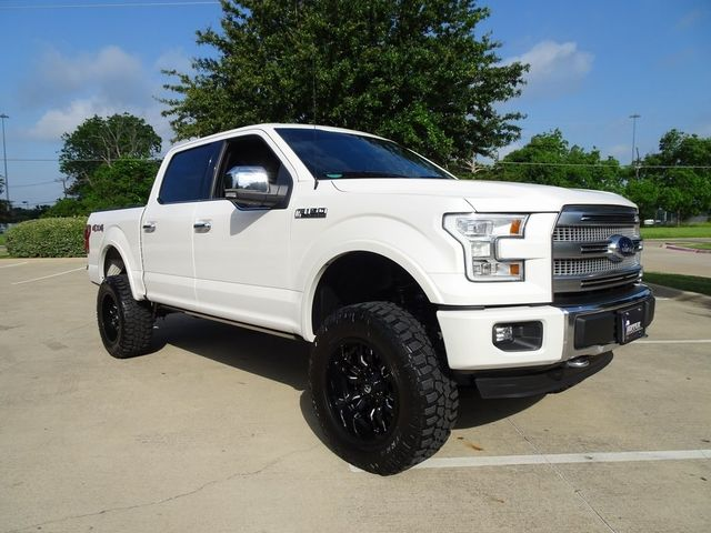 2015 Ford F-150 Platinum LIFT/CUSTOM WHEELS AND TIRES