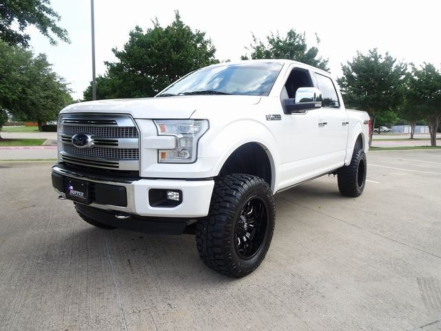 2015 Ford F-150 Platinum LIFT/CUSTOM WHEELS AND TIRES in McKinney, Texas 75070