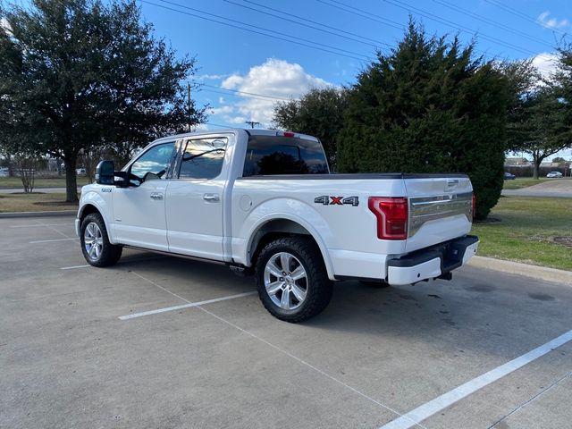 2015 Ford F-150 Platinum in McKinney, Texas 75070