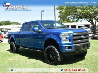 2015 Ford F-150 Lariat Custom Lift, Wheels and Tires in McKinney, TX 75070