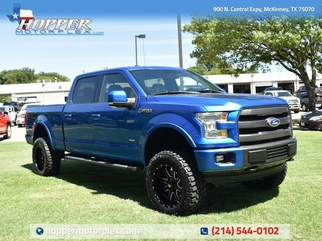 2015 Ford F-150 Lariat Custom Lift, Wheels and Tires
