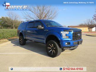 2015 Ford F-150 XLT FX4 Custom lift Wheels and Tires in McKinney, Texas 75070