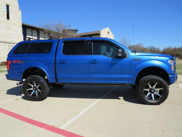 2015 Ford F-150 XLT FX4 Custom lift Wheels and Tires in McKinney, Texas 75070
