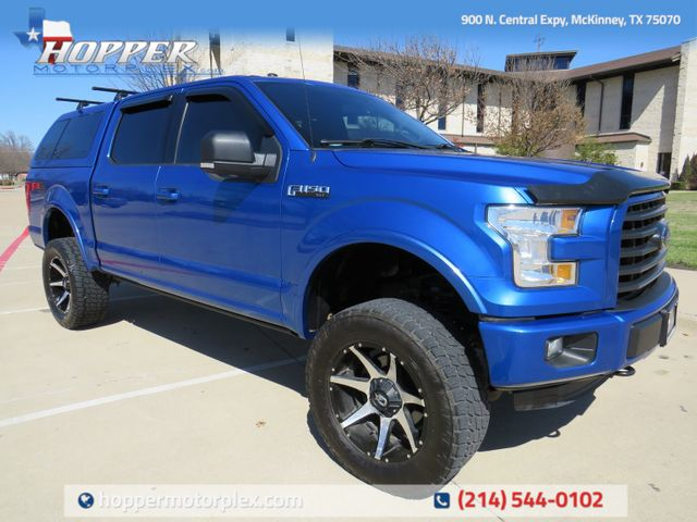 2015 Ford F-150 XLT FX4 Custom lift Wheels and Tires