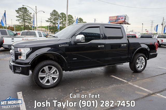 2015 Ford F-150 Platinum in Memphis, Tennessee 38115