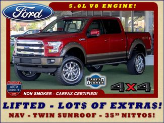 2015 Ford F-150 Lariat SuperCrew 4x4 - LIFTED - NAV - SUNROOFS! Mooresville , NC