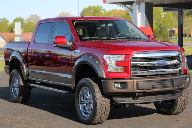 2015 Ford F-150 Lariat SuperCrew 4x4 - LIFTED - NAV - SUNROOFS! Mooresville , NC 24