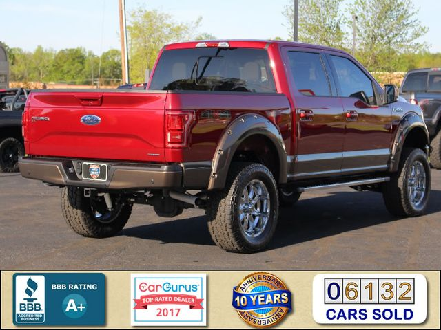 2015 Ford F-150 Lariat SuperCrew 4x4 - LIFTED - NAV - SUNROOFS! Mooresville , NC 2