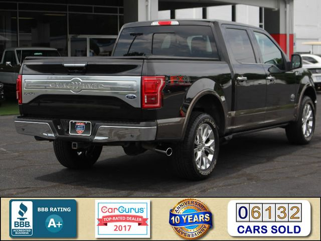2015 Ford F-150 King Ranch LUXURY EDITION SuperCrew 4x4 FX4 Mooresville , NC 2