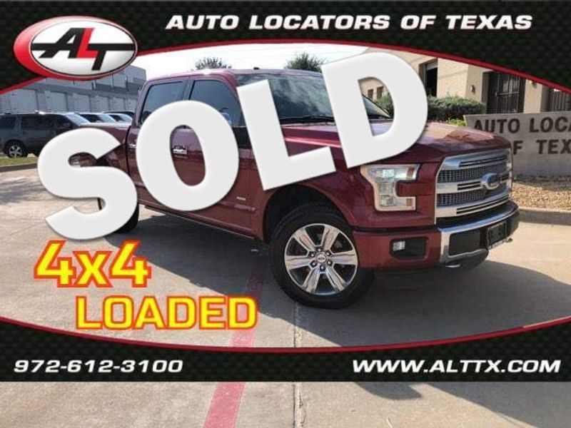 2015 Ford F-150 Platinum | Plano, TX | Consign My Vehicle in Plano TX