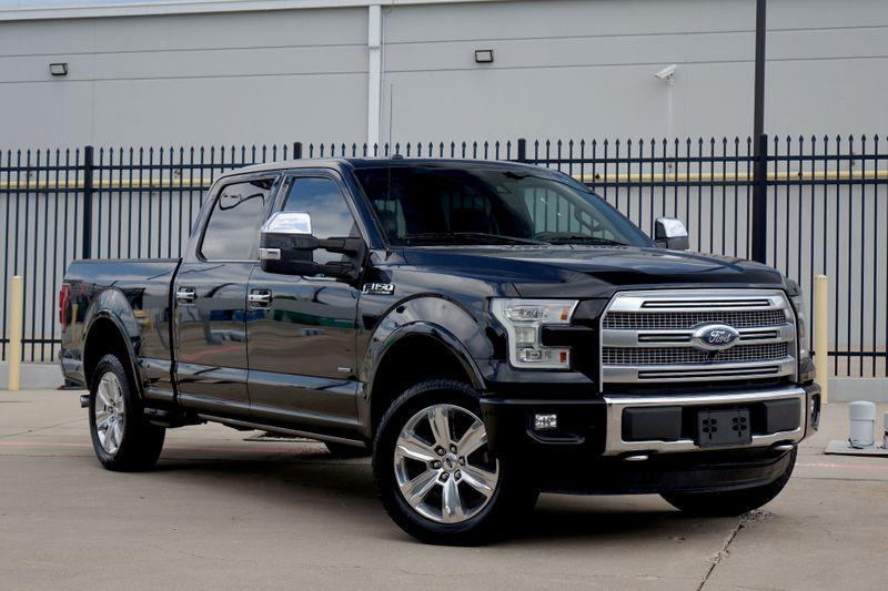 2015 Ford F-150 Platinum 4x4 Platinum*Nav*Sunroof*BU Cam*4x4*Crew*   Plano, TX   Carrick's Autos in Plano TX