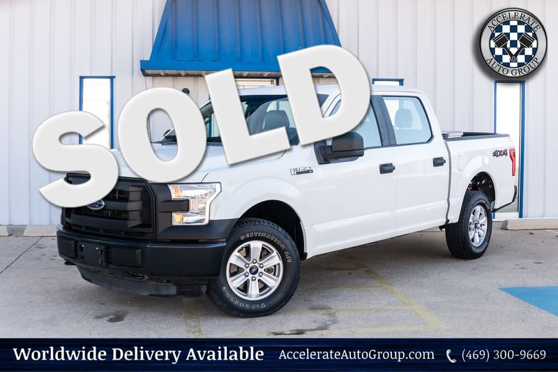 2015 Ford F-150 XL 4X4 5.0 V8 AUTO TRANS TOOLBOX POWER ACCES. NICE in Rowlett Texas