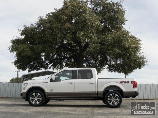 2015 Ford F150 Crew Cab King Ranch FX4 EcoBoost 4X4