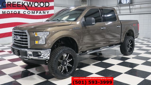 2015 Ford F-150 XLT FX4 4x4 Brown Lifted Black 22s New Tires CLEAN in Searcy, AR 72143