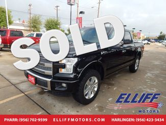2015 Ford F-150 Platinum 4X4 Super Crew in Harlingen, TX 78550