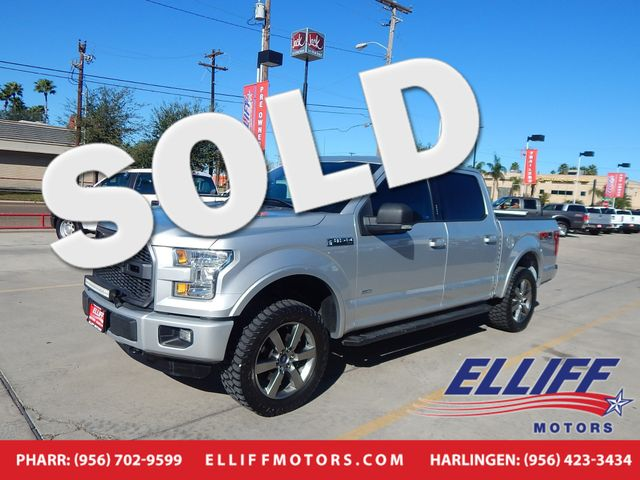 2015 Ford F-150 XLT SPORT 4X4 SUPERCREW XLT