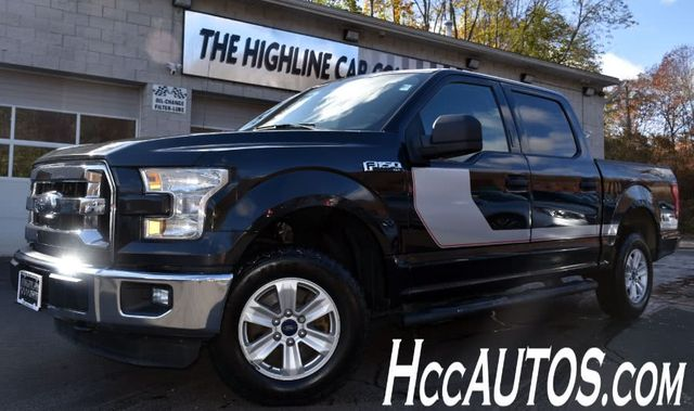 2015 Ford F-150 4WD SuperCrew XLT Waterbury, Connecticut