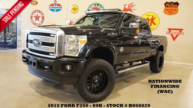 2015 Ford F-250 Platinum 4X4 LIFTED,ROOF,NAV,FUEL WHLS,89K