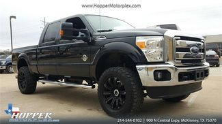 2015 Ford F-250SD Lariat Custom lift with tires in McKinney, Texas 75070