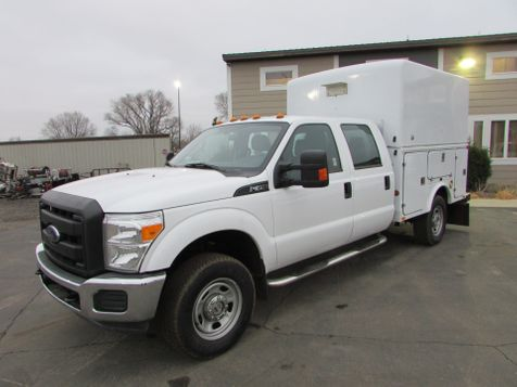 2015 Ford F-350 4x4 Crew-Cab Enclosed Utility Box  in St Cloud, MN