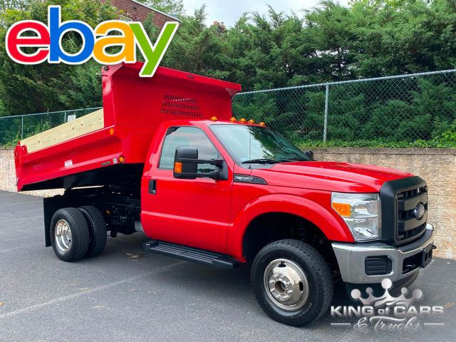 2015 Ford F-350 4x4 Drw MASON DUMP LOW MILES in Woodbury, New Jersey 08093