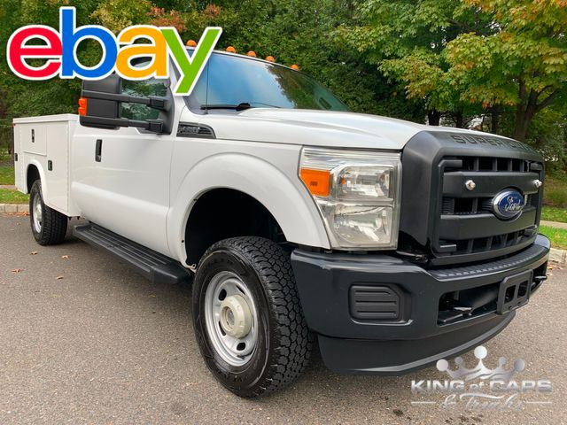 2015 Ford F-350 Ext Cab 4X4 UTILITY TRUCK