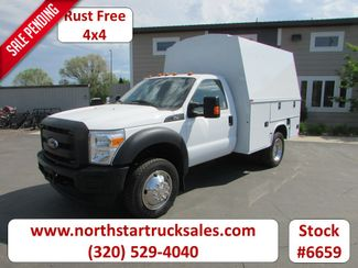 2015 Ford F-450 4x4 Reg Cab 9' Enclosed Utility Box in St Cloud, MN