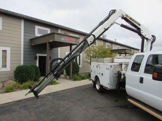 2015 Ford F-550 4x4 Utility with a IMT 533 Knuckle boom   St Cloud MN  NorthStar Truck Sales  in St Cloud, MN