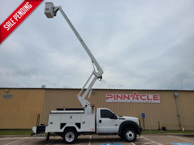 2015 Ford F-550 6.7 ETI ETC37IH 42' BUCKET TRUCK XL F550 BUCKET TRUCK 42' REACH ETI INSULATED in Irving, TX 75039