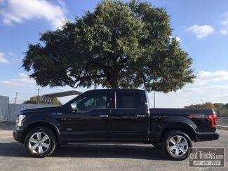2015 Ford F150 Crew Cab Platinum EcoBoost 4X4 in San Antonio Texas, 78217