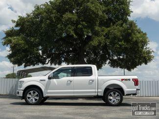 2015 Ford F150 Crew Cab Platinum 5.0L V8 4X4 in San Antonio Texas, 78217