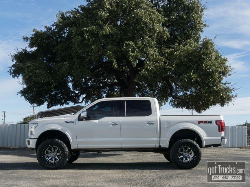 2017 Ford F150 Crew Cab Platinum Fx4 5 0l V8 4x4 In San Antonio Texas