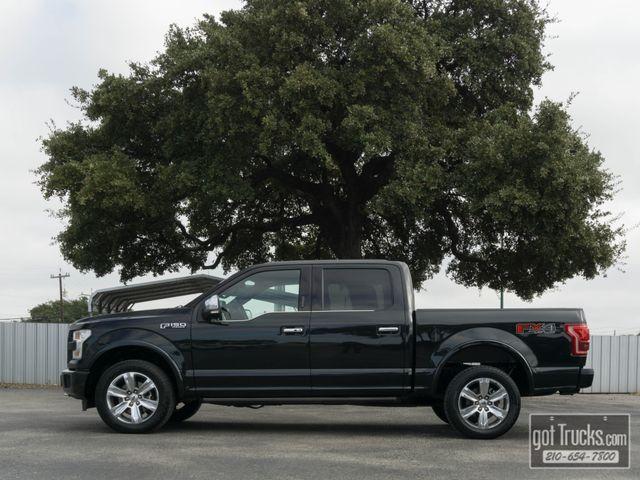 2015 Ford F150 Crew Cab Platinum FX4 5.0L V8 4X4
