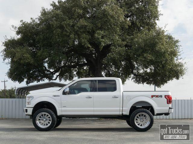 2015 Ford F150 Crew Cab Platinum FX4 EcoBoost 4X4