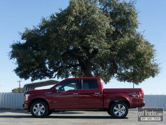 2015 Ford F150 Crew Cab Platinum FX4 EcoBoost 4X4 in San Antonio, Texas 78217