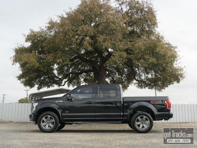 2015 Ford F150 Crew Cab Lariat FX4 Eco Boost 4X4