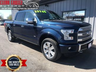 2015 Ford F150 Platinum in San Antonio, TX 78212