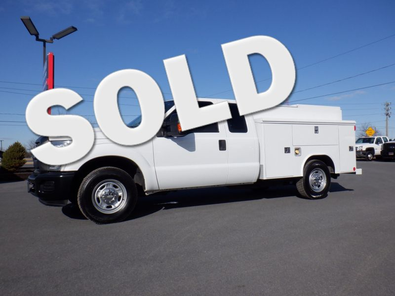 2015 Ford F250 Extended Cab Enclosed Reading Utility Bed 2wd in Ephrata PA