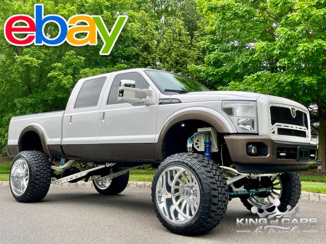 2015 Ford F250 King Ranch 6.7l Diesel 10 INCH LIFT ON 40'S PRO BUILT in Woodbury, New Jersey 08093