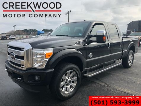 2015 Ford Super Duty F-250 Platinum 4x4 Diesel Black Chrome 20s Nav 1 Owner in Searcy, AR