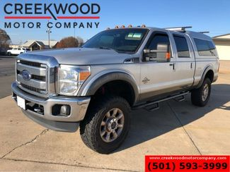 """2015 Ford Super Duty F-250 Lariat 4x4 Diesel Lifted Chrome 20s 37"""" Tires Nav in Searcy, AR 72143"""