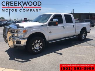 2015 Ford Super Duty F-250 Lariat 4x4 Diesel White Leather Chrome 20s 1 Owner in Searcy, AR 72143