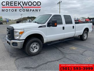 2015 Ford Super Duty F-250 XL XLT 4x4 6.2L Gas Auto Long Bed White Crew Cab in Searcy, AR 72143