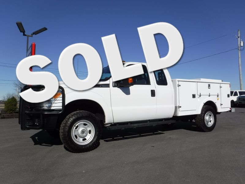 2015 Ford F350 Extended Cab 9FT Utility 4x4 in Ephrata PA