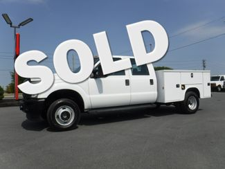 2015 Ford F350 Crew Cab Dually 4x4 with New 8' Knapheide Utility in Lancaster, PA PA
