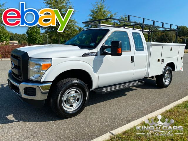 2015 Ford F350 Super Duty EXT CAB 4X4 6.2L V8 GAS UTILITY TRUCK 1-OWNER in Woodbury, New Jersey 08093