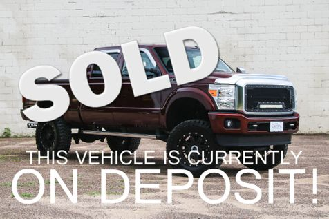 2015 Ford F350 Super Duty Platinum Crew Cab 4x4 on 37