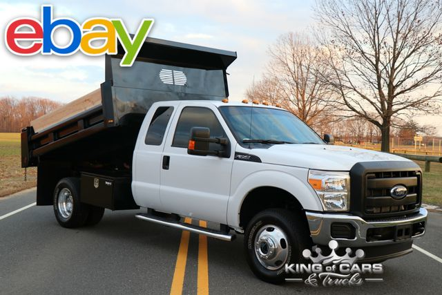 2015 Ford F350 X-Cab Mason DUMP 6.2L V8 37K ORIGINAL MILES 4X4 MINT in Woodbury, New Jersey 08096